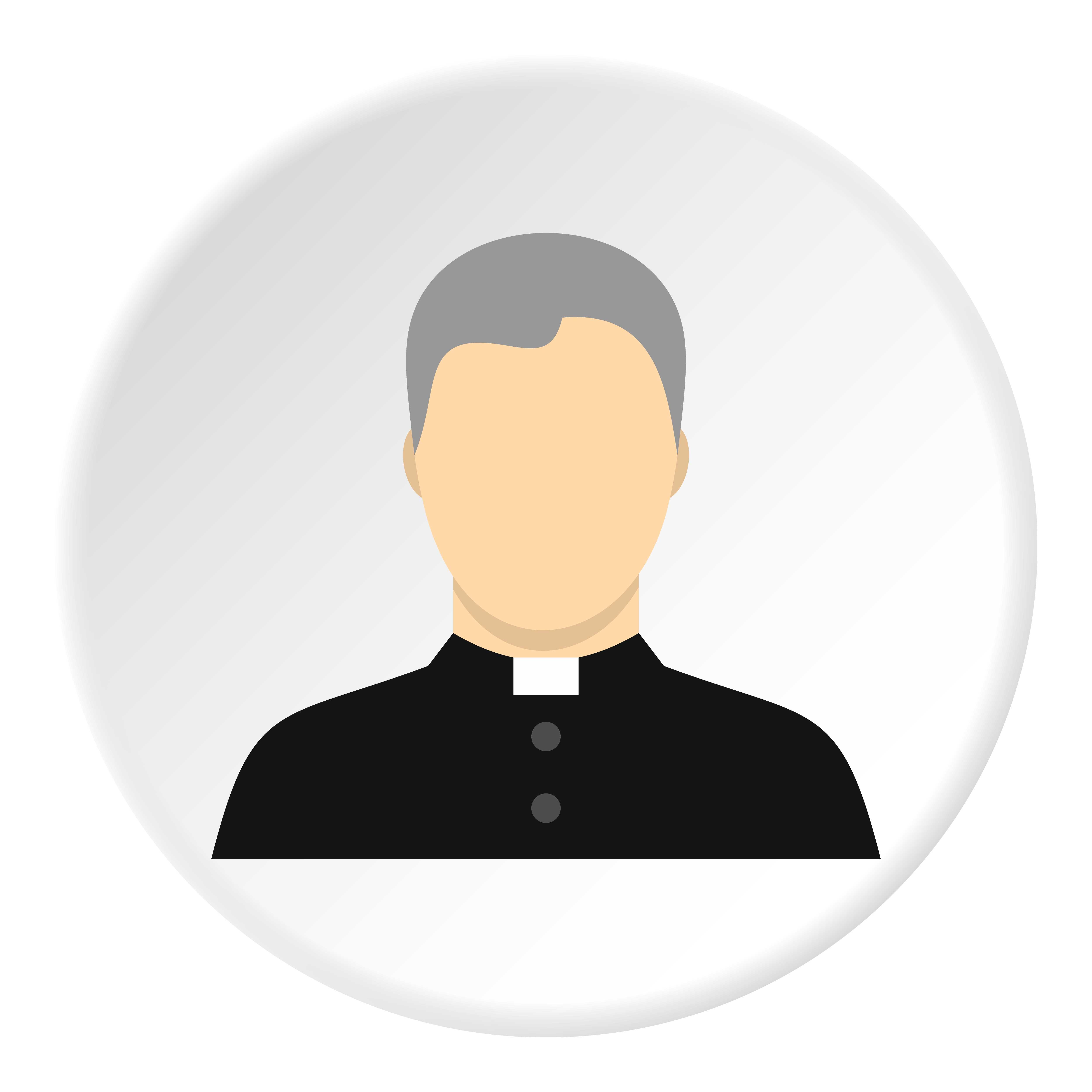 —Pngtree—catholic priest icon circle_5282093
